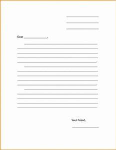 5 printable formal business letter format expense report With letter writing template