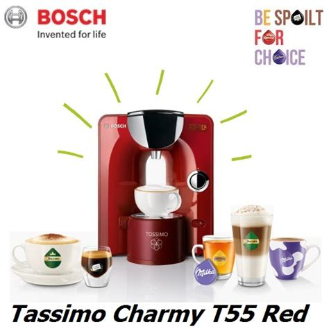 bosch tassimo charmy bosch tassimo t55 charmy tas5546gb multi drink coffee pod machine around the