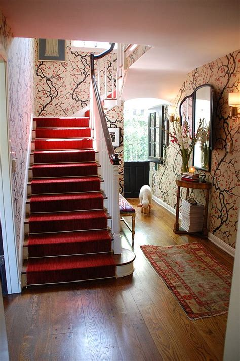 fabulous ideas  bring wallpaper   stairway