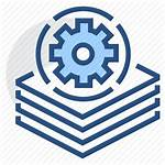 Batch Processing Icon Multiple Gear Icons Iare