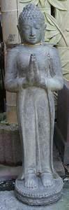 stehender buddha mit begrussungsgeste 119cm buddha With französischer balkon mit stehender buddha garten