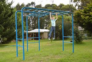Fun Monkey Bars Playground Equipment from Cubbykraft
