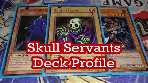 skull servant deck 2017 ygopro skull servants yugioh deck profile 2017