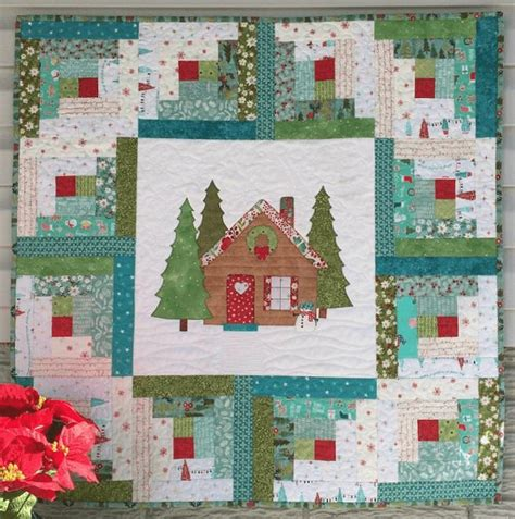 patchwork cabin welcome them home with this sweet quilt quilting
