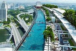 Singapore Hotel With Infinity Pool On Rooftop Image Pool At Marina Bay Sands Singapore LUXUO