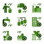Recycling Recycle Icons Vector