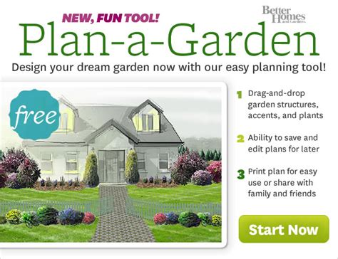 senior journal garden planning tool