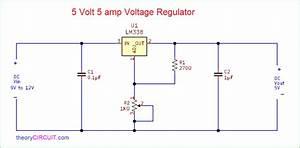 5 Volt 5 Amp Voltage Regulator