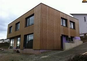 Fassadengestaltung Holz Und Putz : holzterrasse holzfassade parkettboden thermowoodmaster ~ Michelbontemps.com Haus und Dekorationen