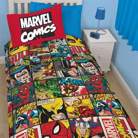 Marvel Comics Defenders X Men Iron Man Thor Boys Duvet