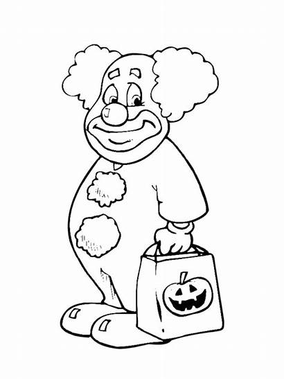 Halloween Coloring Pages Costume Costumes Scary Printable