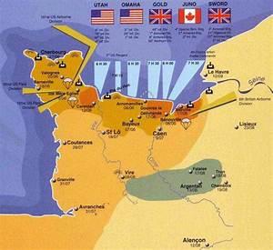 D-Day Landings Maps - WW1 Battlefield Tours:Australia ...