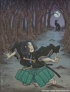 Japanese Wolf Yokai