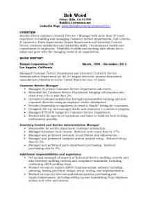 customer service manager resume resume customer service manager