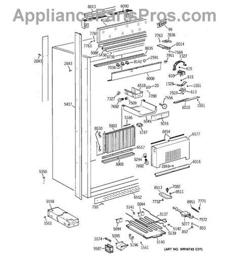 parts  ge zirsnmcrh cabinet parts appliancepartsproscom