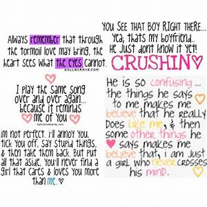 CRUSH QUOTES graphics and comments