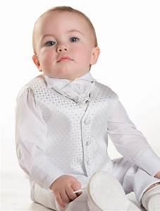 Baby boys white waistcoat suit | Page boys suits | Boys wedding suits | Solomon | | Roco