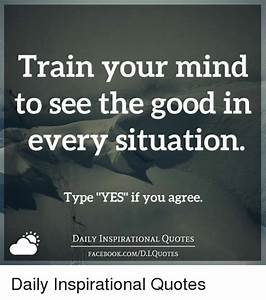 Train Your Mind... Everyday Situation Quotes