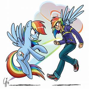 Mlp Rainbow Dash And Rainbow Blitz R34 Rainbow Dash Hears ...