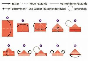 Hut Aus Papier : schiff falten anleitung zum nachbasteln geolino ~ Watch28wear.com Haus und Dekorationen