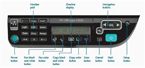 Hp Resume Button by Hp Officejet 4500 Inkjet Multi Function Print Copy Scan Fax Used Great Shape Ebay