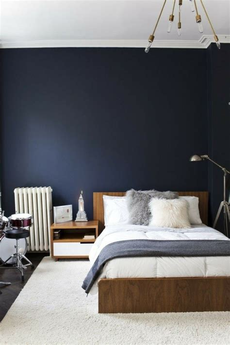 decoration chambre bleue déco chambre bleu calmante et relaxante en 47 idées design