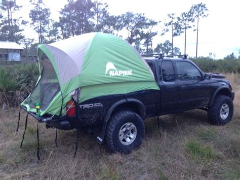 Tacoma Bed Tent by Toyota Tacoma 4wd 2000 With Truck Tent Ideas