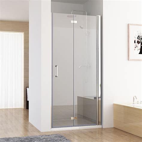 duschwand mit tür nischent 252 r duschabtrennung faltt 252 r duschwand dusche nano glas 70 120 x 195 cm da ebay