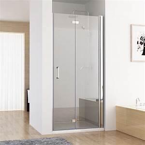 Falttür Dusche Kunststoff : nischent r duschabtrennung faltt r duschwand dusche nano glas 70 120 x 195 cm da ebay ~ Frokenaadalensverden.com Haus und Dekorationen