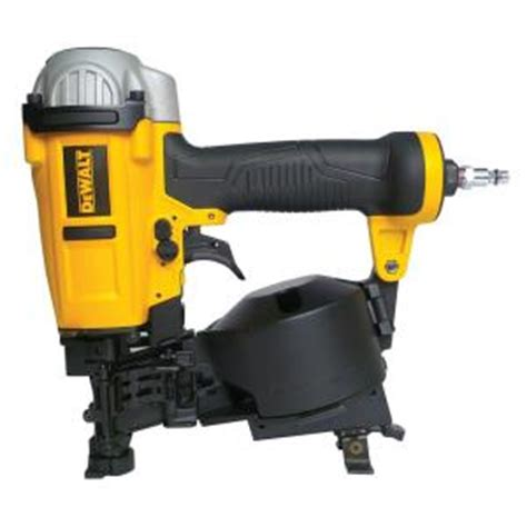 Bostitch Flooring Nailer Home Depot by Dewalt 15 Degree Coil Roofing Nailer Dwfp12658 The Home