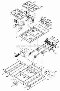 Dacor Sgm364 Parts List And Diagram