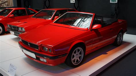 maserati biturbo 1991 maserati biturbo spider pictures information and