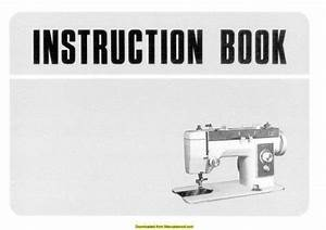 New Home Janome 581 Sewing Machine Instruction Manual