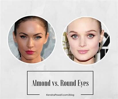 Eyes Almond Eye Shape Round Shaped Roundish
