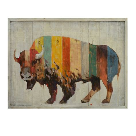 Brilliant Buffalo Wall Art