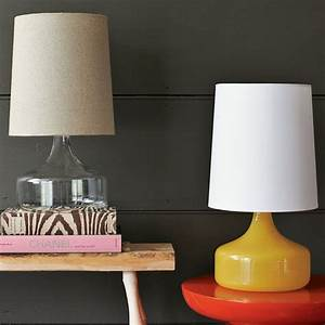 perch glass lamp contemporary table lamps by west elm With perch table lamp yellow