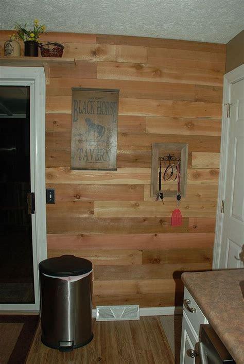 diy barn wood wall  kitchen hometalk