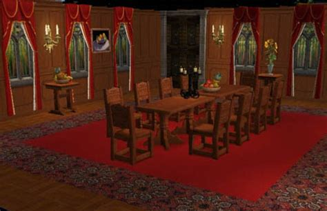 jeux de cuisine 1er étage château nid de l 39 aigle neuschwanstein sims 2