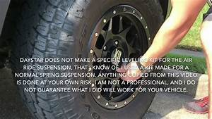 How To Install Leveling Kit For Ram Air Suspension
