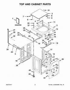 Whirlpool Cae2745fq0 Parts List
