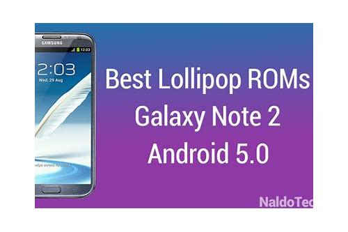 download lollipop 5.0 for note 2