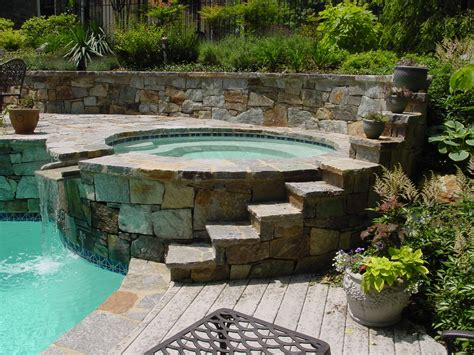 pictures of outdoor spas maryland md va outdoor spas pools builder