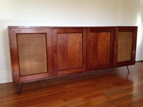 mid century stereo vintage kenwood kr 2120 mid century modern stereo console