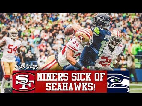 ers  seahawks nfl  week  predictions youtube