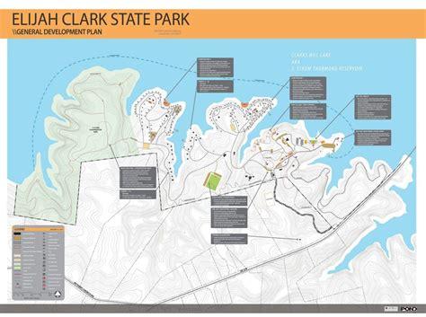 elijah clark state park master plan pond company