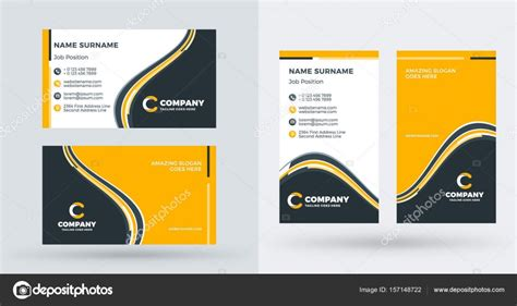 Double-sided Creative Business Card Template. Portrait And Visiting Card Excel Format Business Cards Psd Files Free Download With Llc Services New York Life Electrical Picture To Contacts Template For Libreoffice