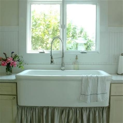 farmhouse kitchen curtain sink for the home