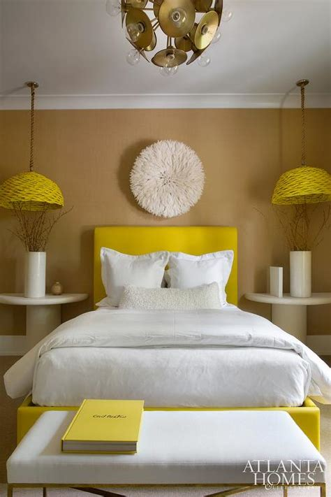 4091 yellow and white bedroom yellow and brown bedrooms contemporary bedroom