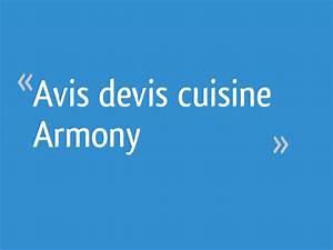 Cuisine Armony Avis : avis devis cuisine armony 40 messages ~ Nature-et-papiers.com Idées de Décoration