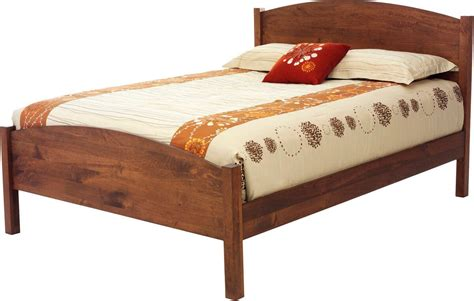 lebanon eclipse cherry bed countryside amish furniture